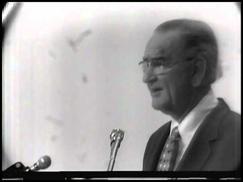 Remarks by Former President Lyndon Johnson at a Civil Rights Symposium, 12/12/1972.