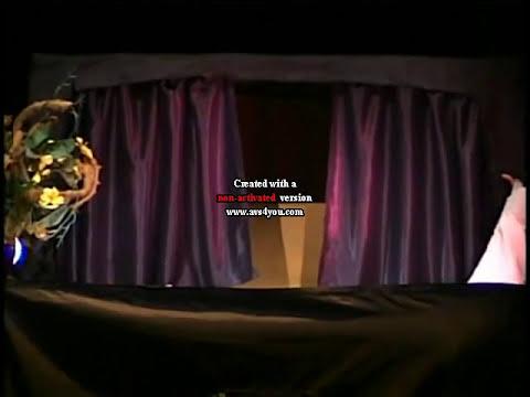 Teatro de Titeres Mil Mareas - El Lobo Feroz y Caperucita Roja.