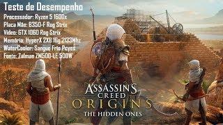 Teste de Desempenho - Assassin's Creed: Origins
