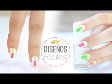 Dise os de u as f ciles y bonitos easy nails art youtube for Unas sencillas y faciles