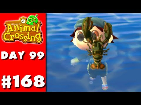 Animal Crossing: New Leaf - Part 168 - Seafood Maniac (Nintendo 3DS Gameplay Walkthrough Day 99)
