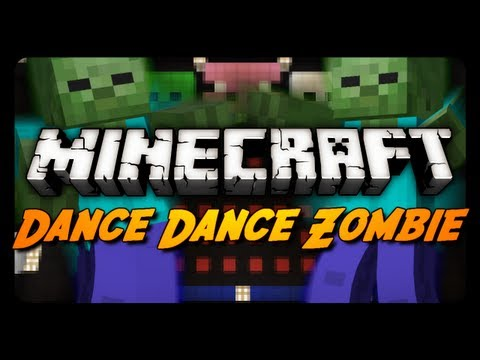 Minecraft Mini Game: DANCE DANCE ZOMBIE