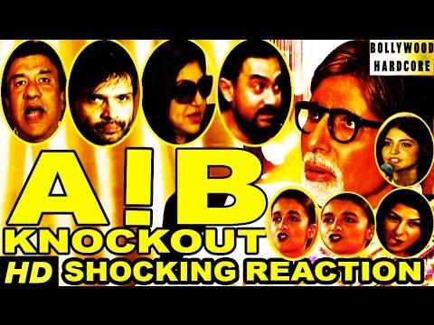 AIB Knockout | Aamir Khan | Alia Bhatt | Anushka | Amitabh | Sonam Reacts on #AIBKnockoutControversy