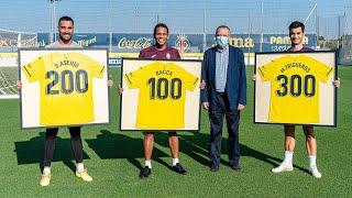 Centenarios con el Villarreal CF