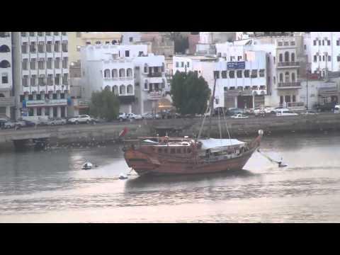 Mit AIDAblu in Muscat (Sultanat Oman)