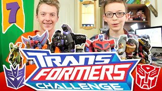 SKYvsFIN | EP 7 | TRANSFORMERS CHALLENGE!