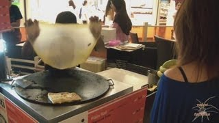 The best pancake in Thailand . Блины по Тайски !!!