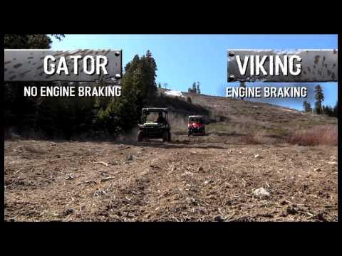 2014 Yamaha Viking FI 4x4 EPS Vs John Deere Gator 825i