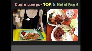 Halal Islam Food Street Top 5 in Malaysia Korea Japan