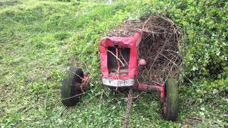 David Brown 990 emerges from the brambles Part 1