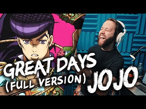 """JOJO'S BIZARRE ADVENTURE - """"Great Days"""" (FULL English Op 7) Cover by Jonathan Young & Caleb Hyles"""