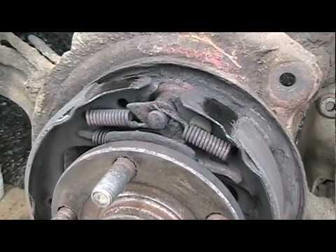subaru brake parking outback 2000