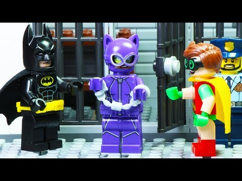 Lego Batman and Catwoman - Diamond Robbery