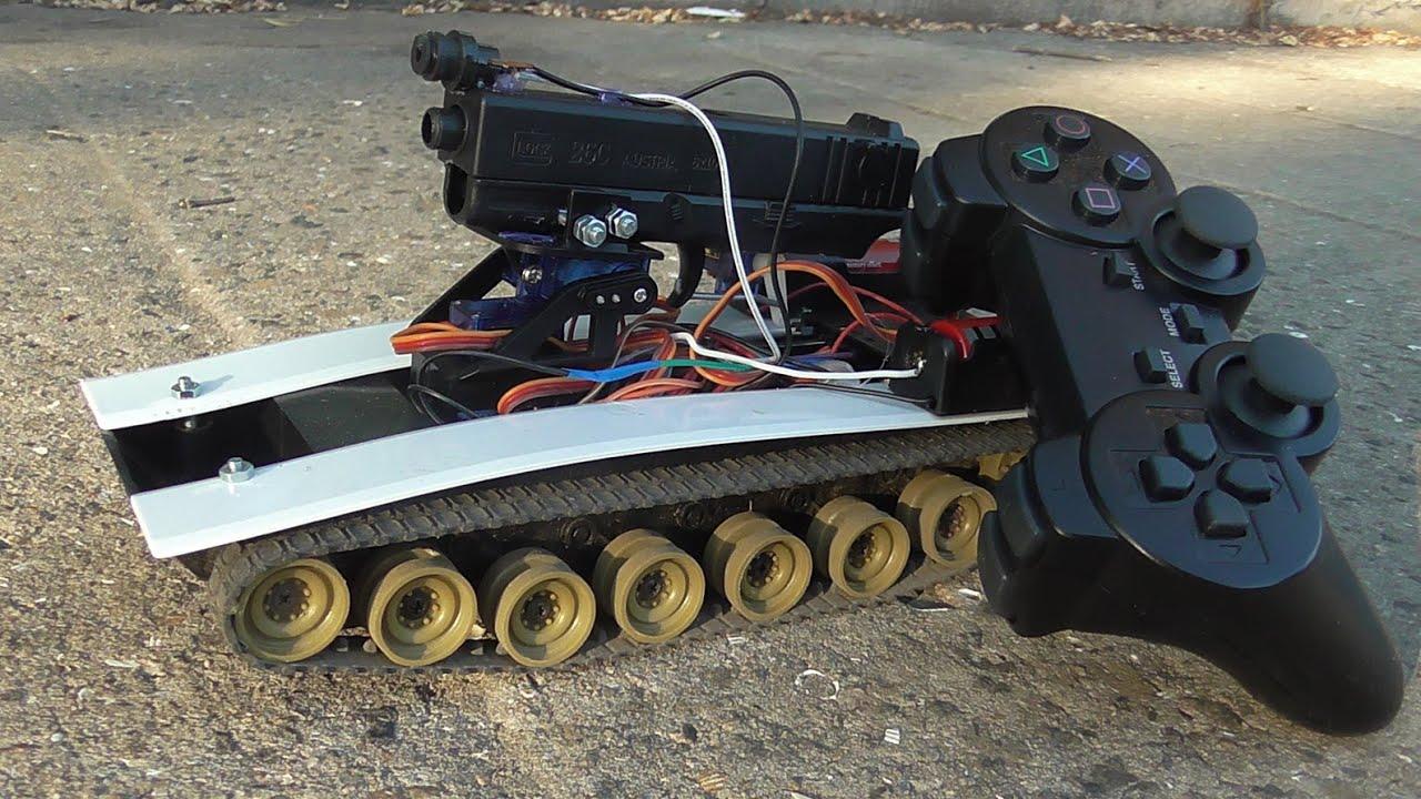 Как сделать радиоуправляемую модель танка своими руками