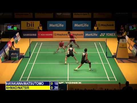 R32 - XD - T.Ahmad / L.Natsir vs Hayakawa K. / Matsutomo M. - 2014 Malaysia Badminton Open
