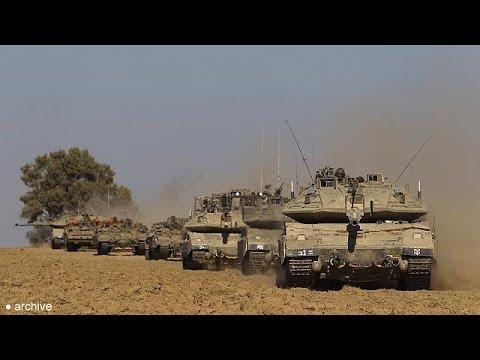 Israel invade Gaza