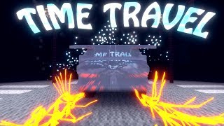 Minecraft | TIME TRAVEL MOD Showcase! (TIME MACHINE MOD, TIME TRAVEL MOD)