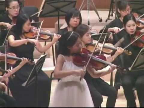 JC BACH Viola Concerto in C minor 3rd movement. Eunbin Lee