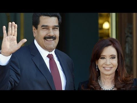 The Venezuelan President's Mercosur Tour