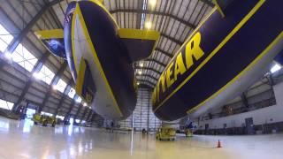 Goodyear Blimp Hangar Tour
