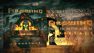 "FIREWIND (GUS G) - ""Back On The Throne""のリリック・ビデオを公開 新譜「Immortals」日本盤 2017年1月25日発売予定収録曲 thm Music info Clip"