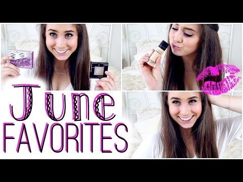 June 2014: Monthly Beauty Favorites.