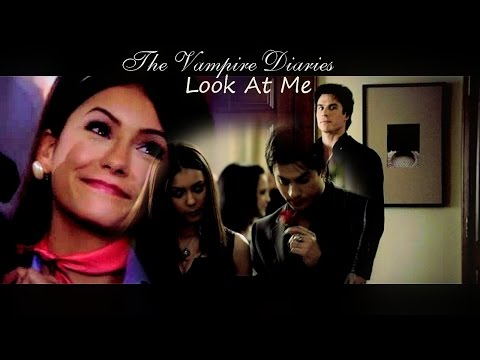 Damon & Elena | Look at me ► BEST FUNNY MOMENTS [SEASON 1] ✔
