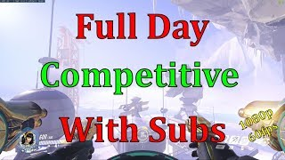 Overwatch - Full Day Competitive With subs pt 2 - 1080p 60fps