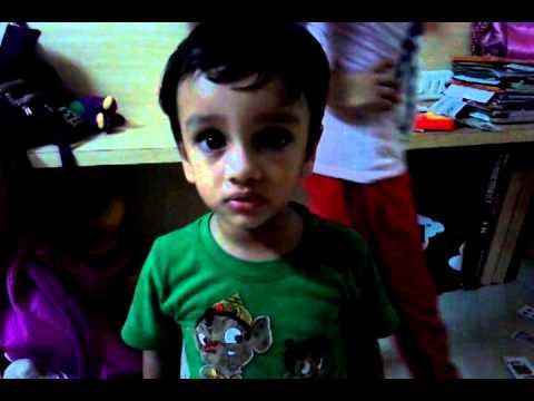 Sameer saying sara's shlokas with meaning