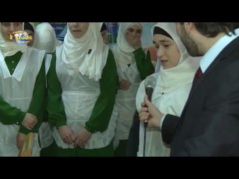 مسابقة الطهي في معهد نسوة مسلمات في داغستان