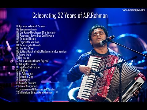 Unreleased Bit Songs Collections | Hummingjays | Celebrating 22 Years Of A.r.rahman video