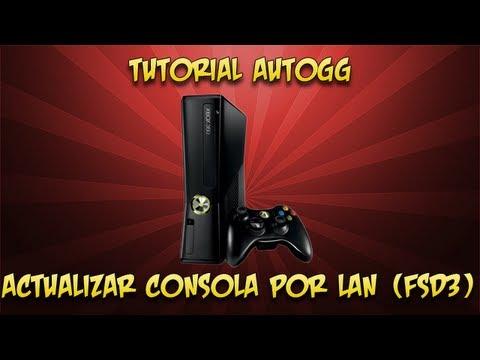 Tutorial Autogg - Actualizar consola por Lan y Fsd3  (Metodo Lan+Fsd3)