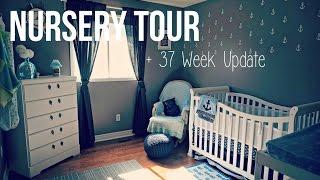(15.5 MB) NURSERY TOUR Nautical Theme + 37 Week Pregnancy Update Vlog 2015 Mp3