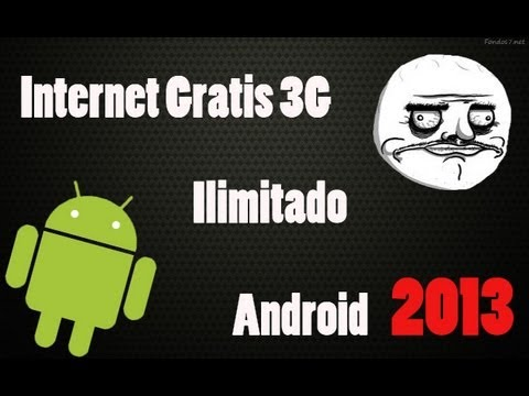 Internet Gratis Android [Usuarios Root] 2013
