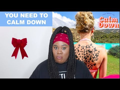 Taylor Swift - You Need To Calm Down |REACTION|