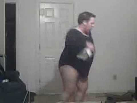 Fat boy dancing to single ladies