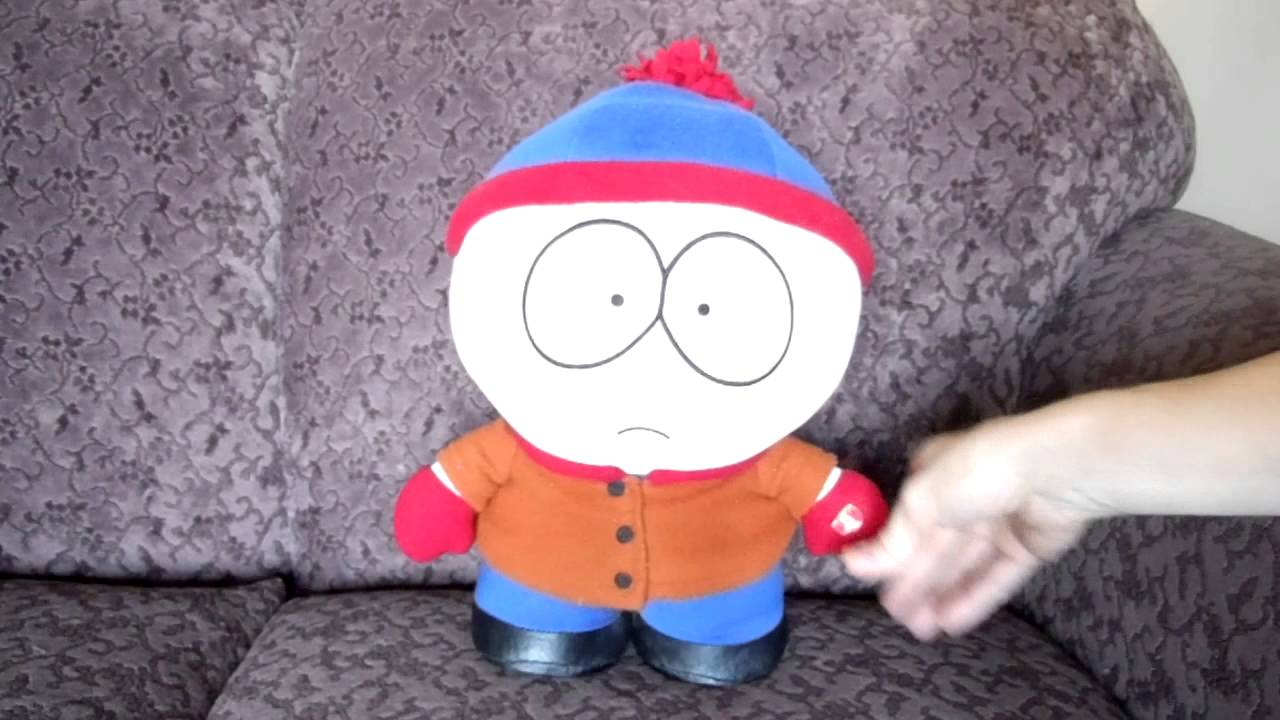 TALKING STAN MARSH DOLL SOUTH PARK COMEDY CENTRAL - YouTube
