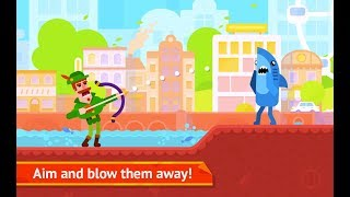 Bowmasters - Multiplayer Game #day1 (Miniclip.com) | Bowmasters Walkthrough | Kids TV Channel