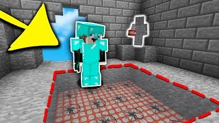 FUNNIEST INVISIBLE TNT TROLL EVER... | Minecraft SKYWARS