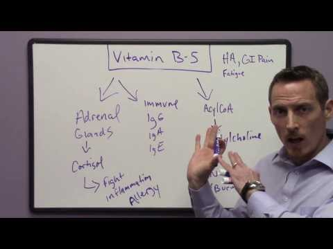 Signs and Symptoms of Vitamin B5 Deficiency