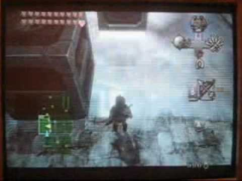 Twilight Princess : Snowpeak Temple Block puzzle solution