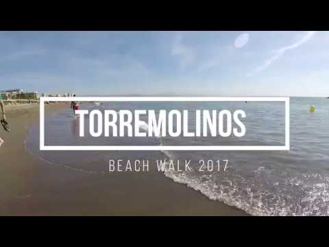 Torremolinos Playa Bajondillo Beach Walk Spain A Del Sol 2017