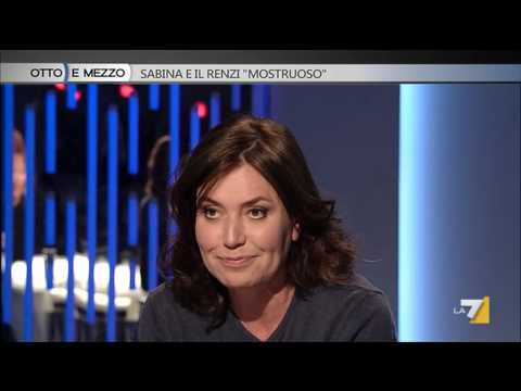 Sabina Guzzanti e il Renzi 'mostruoso' – Puntata del 10/04/2014