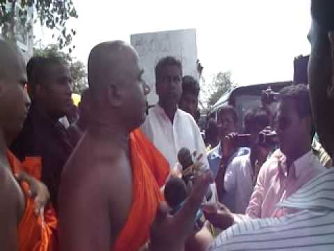 Against Srilankan national anthem singing in Tamil Language - Sinhala Ravaya