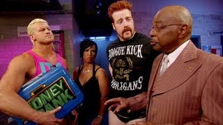 Teddy Long makes a match between Sheamus and Dolph Ziggler: SmackDown - August 24, 2012