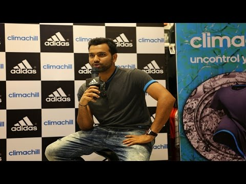 Rohit Sharma | Sporting The New Climachill Was Adidas Athlete & Indian Cricketer