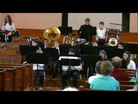 """African Marching Song"" - Battle Creek Academy Cadet Band"