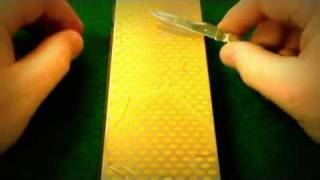 ASMR Pocket Knife Sharpening - ASMR Whisper