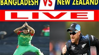 Bangladesh vs Newzealand--Tri Nation Series--3rd odi---2017--live