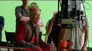 """Just Like Fire (From """"Alice Through The Looking Glass"""")(Behind the Scenes)"""